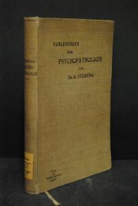 Störring - Vorlesungen über Psychopathologie – Leipzig 1900 - EA