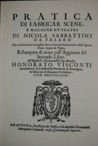 Sabbattini – Theaterdekoration usw. - Faksimile 1926