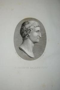 Sallust - Opera omnia - Florenz 1820 - Großes Format