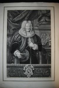 Poemer, Georg Christoph - Kupferstich - 1736