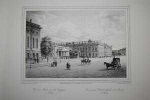 Lütke - Vues de Berlin - 16 Ansichten - Berlin 1837