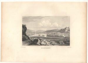 Eichstätt - Stahlstich -  um 1870