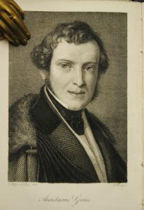 Deutscher Musenalmanach für das Jahr 1836 – Porträt von A. Grün