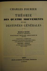 Fourier – Théorie des quatre mouvements – Paris 1967