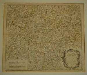 Tirol – Grenzkolorierte Kupferkarte – Robert, Paris - 1753