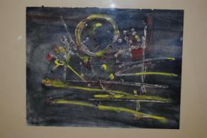 Wicht - Abstrakte Komposition - ca. 1955