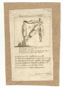 """""""Das Masquerade Räthsel"""" - Kupferstich 1800 - Lebensmittelteuerung"""