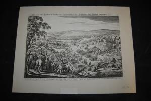 Kupferstich - Wiesloch - um 1650