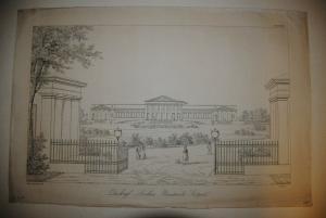 Das königl. Landhaus Rosenstein bei Stuttgart - 1838