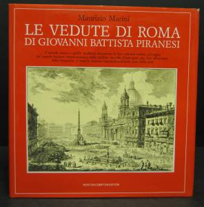 Marini - Le vedute di Roma di Piranesi – Rom 1989