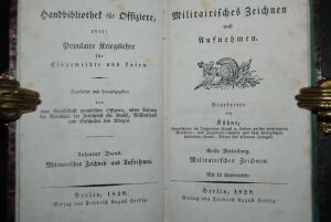 Kühne - Militairisches Zeichnen und Aufnehmen - Berlin 1829