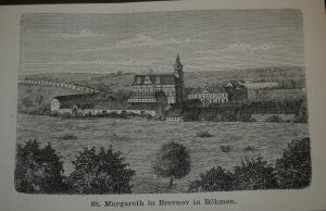 Brunner – Ein Benediktinerbuch – 1880 – Mit Ansichten