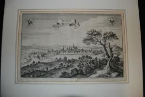 Bad Windsheim – Kupferstich von Merian – Um 1648
