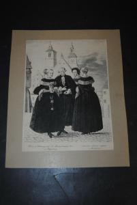 Lipowski - Hochzeits-Kleidung nach Reichsstädtischer Sitte zu Regensburg - 1830