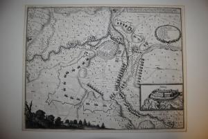 Bad Neustadt an der Saale - Kupferstich 1643