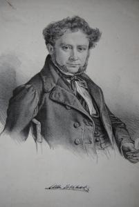 Volkhart, Albrecht Christoph Alexander - Lithographie - Porträt - ca. 1840