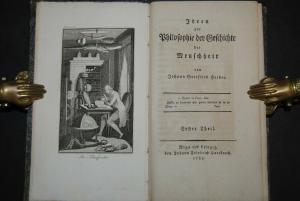 Herder - Ideen zur Philosophie der Geschichte der Menschheit - 1785-1792