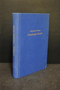 Freiberg - Preussische Chronik - Faksimile - 1971