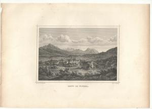 Reut (Reit) im Winkel - Stahlstich - ca. 1870