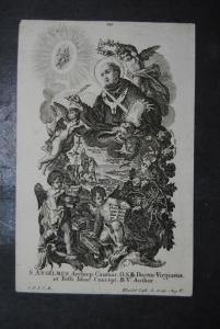S. Anselmus Archiep. Cautuar - Kupferstich - 1770