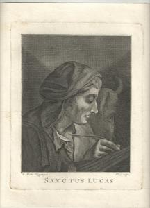 Piazzetta - Kupferstich - Sanctus Lucas - ca. 1750