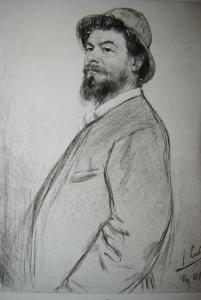 Lorenz Gedon - Porträt - Radierung - 1894