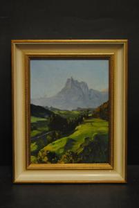 E. Parma - Berglandschaft - Ölbild - ca. 1940