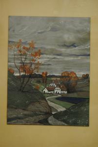 Lischka - Landschaft - Mischtechnik - 1904