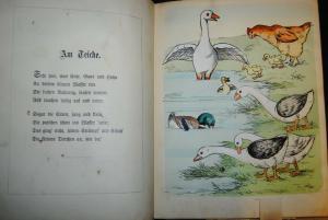 Meggendorfer - Lebende Thierbilder - Ein Ziehbilderbuch - ca. 1895