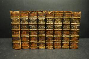 Gottsched - Beyträge zur Hstorie der Deutschen Sprache - 1732f - 8 Bde Komplett