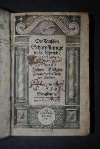 Zincgref - Der teutschen Scharpfsinnige Sprüch - 1628-31
