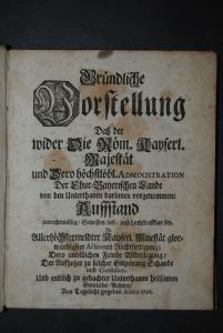 Bauernaufstand in Bayern - 1706