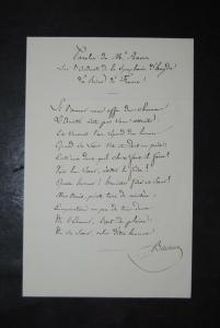 Baillot - Geiger u. Komponist - Eigenh. Albumblatt m. Unterschrift - ca 1820