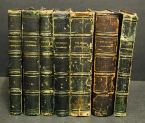 Graefe und Saemisch – Handbuch der Augenheilkunde – 7 Bände - 1874-80
