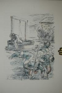 Boccaccio – Das Dekameron – 1922 – Kolor. Lithogrn. v. W. Schmidt - Numeriert