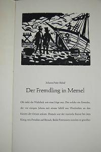 Hebel – Der Fremdling in Memel – Hschn. v. Bajorat 1968