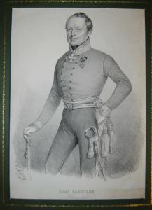 Porträt von Feldmarschall Radetzky - Lithographie - 1848