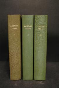 Keller - Sämtliche Werke und ausgewählte Briefe - 1958