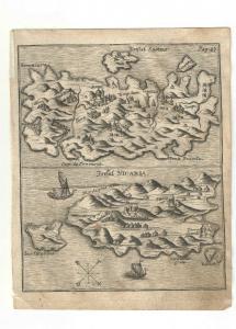 Samos - Icaria - Kupfersicht aus Myller, Peregrinus - 1730