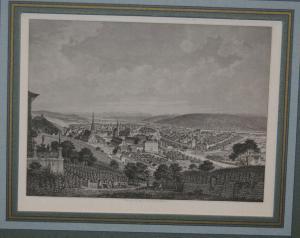 Esslingen a. Neckar - Stahlstich - Nürnberg um 1850