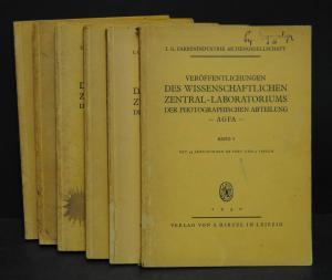 Veröffentlichungen der photographischen Abteilung AGFA - 1930-39