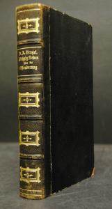 Bengel – Sechzig erbauliche Reden – Stuttgart 1870