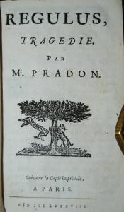 Pradon - 6 französische Theaterstücke in einem Band - 1679-1688