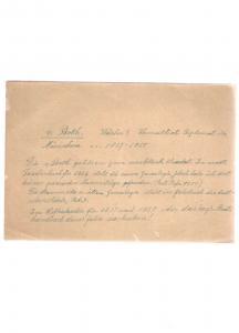Von Both - Eigenhändiger Brief mit Unterschrift - 1837