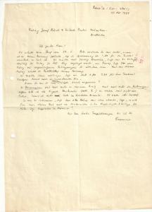 Seewald Richard - Eigenhändiger Brief mit Unterschrift - 1934