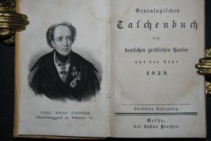 Genealogisches Taschenbuch auf das Jahr 1839