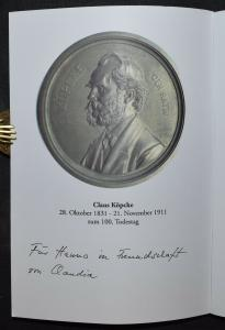 CLAUS KÖPCKE 1831-1911 - CLAUDIA ELBERT - WIDMUNGSEXEMPLAR KARLSRUHE KIT