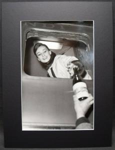 AUDREY HEPBURN, ORIGINAL-VINTAGE-PHOTOGRAPHIE ROM 1962