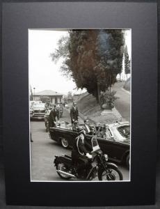 JOHN FITZGERALD KENNEDY, ORIGINAL-PHOTOGRAPHIE VON ALBERTO DURAZZI ROM 1963