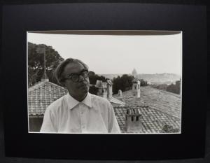 MAX FRISCH - ORIGINAL-PORTRAIT-PHOTO - MARIO DONDERO ROM 1962 VINTAGE
